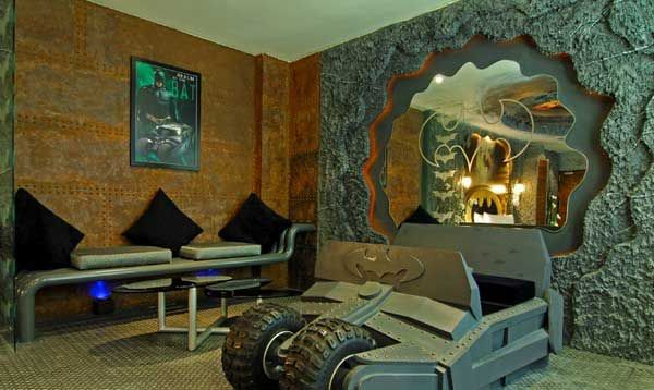 Awesome Boy Room Design with Batman Themed