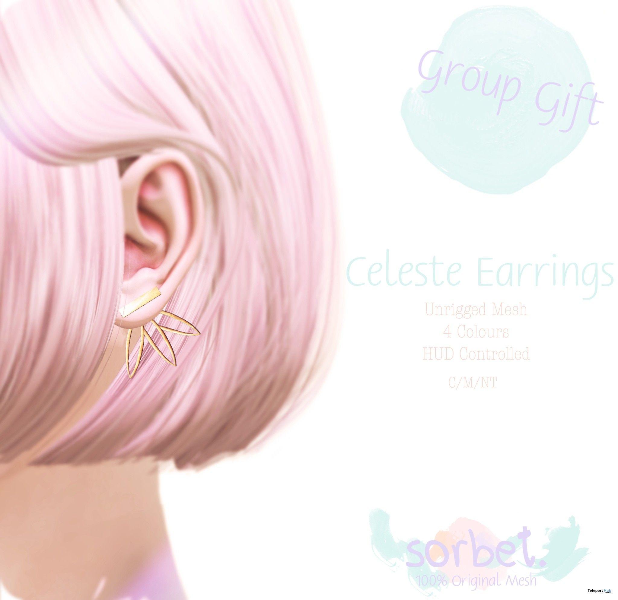 Celeste Earrings Group Gift by Sorbet