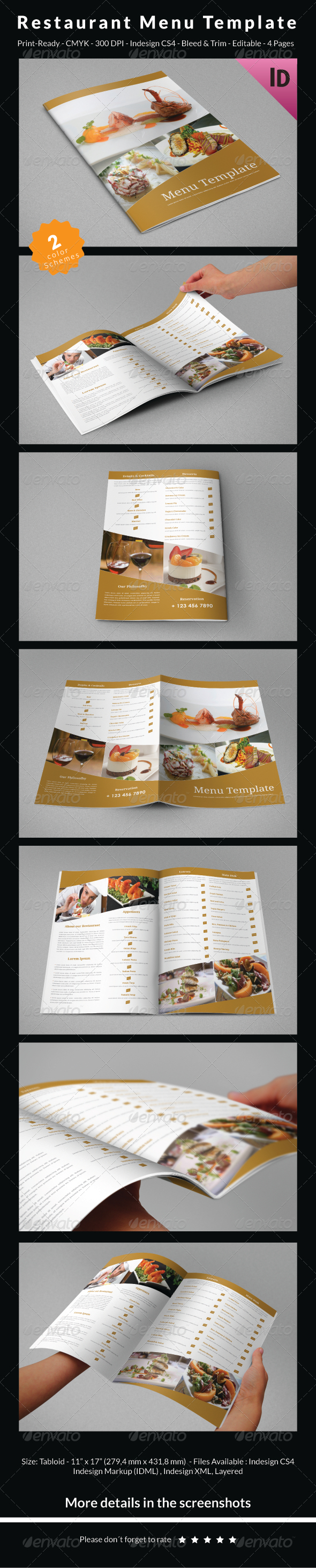 Educational Brochure Template vol.3