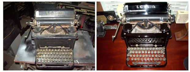 Restoring A 1937 Typewriter With