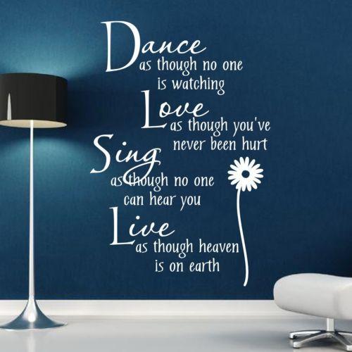 Dance-Love-Sing-Live-Wall-Quote-Sticker-Art-Decor