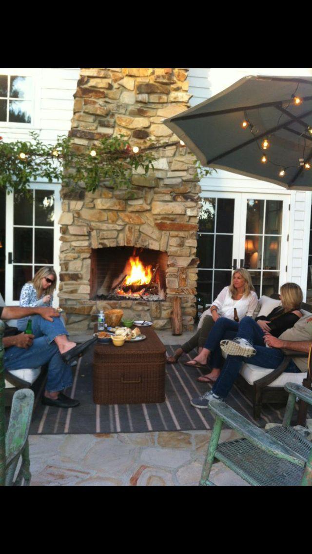 Backyard American farmhouse Pinterest
