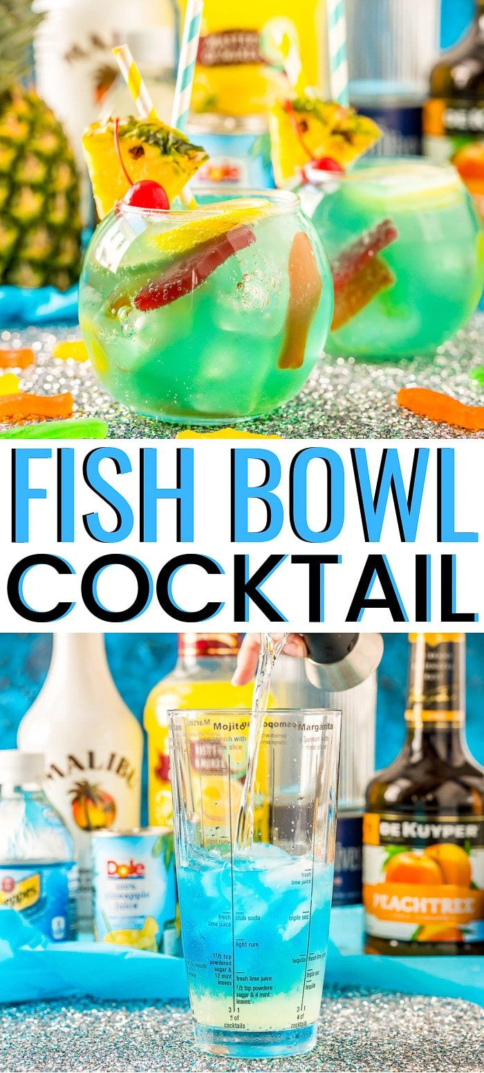 Fish Bowl Drink Party Recipe | Sugar and Soul Co.