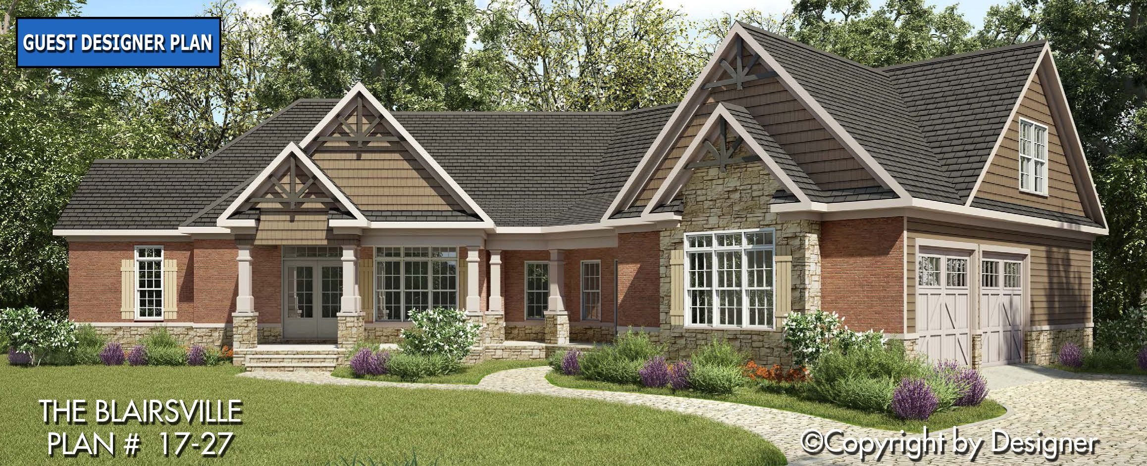 Blairsville House Plan 17 27 Kt Garrell Associates Inc Ranch House Plans Dream House Plans Craftsman House Plans