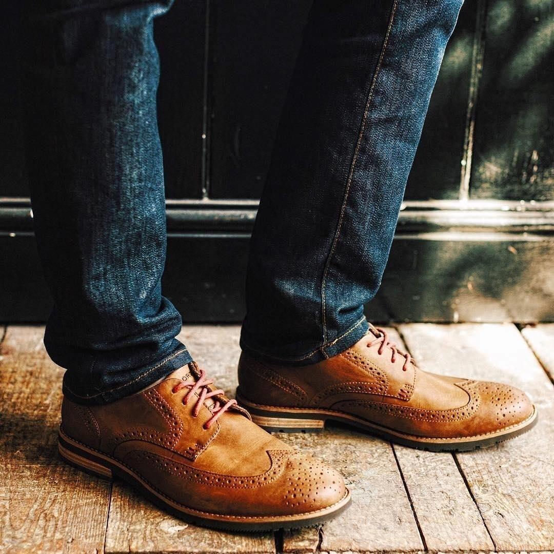 Men's Wingtip Shoes, Comfortable Wingtips | Rockport®