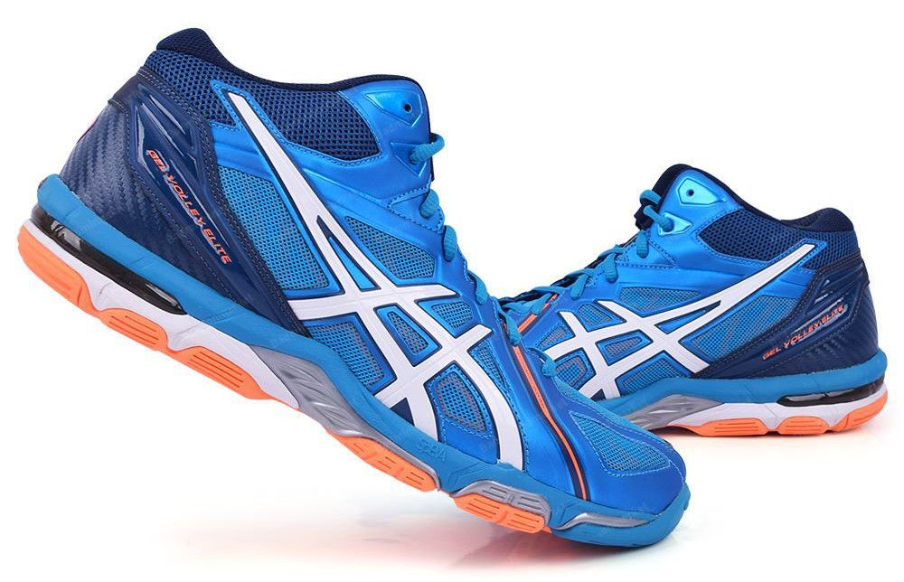 ASICS Gel Volley Elite 3 MT Men s Volleyball Shoes Badminton Blue  B501N-4301  ASICS b8482b28ff4