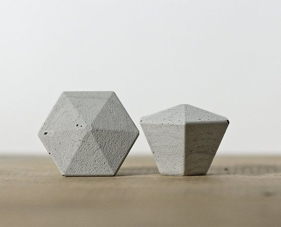 leia concrete knobs drawer pulls handles cabinet knobs