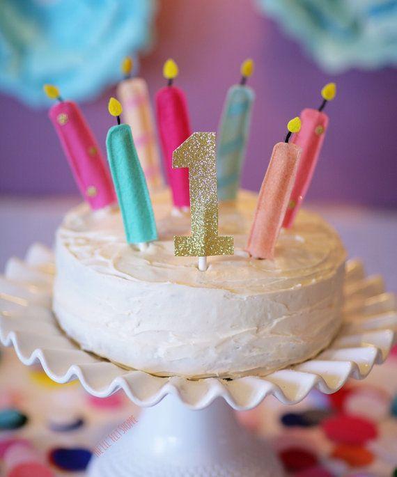 Birthday Candles Felt Cake By TheLilFeltShoppe