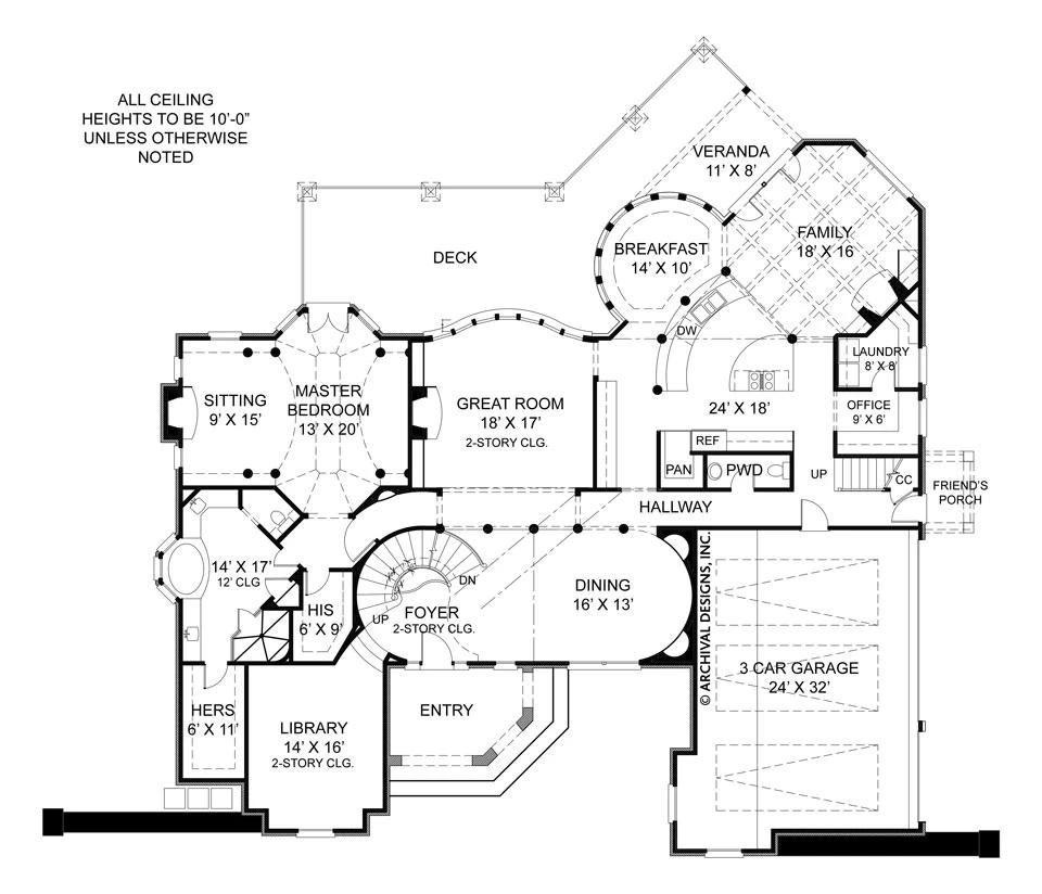 Pontarion II House Plan