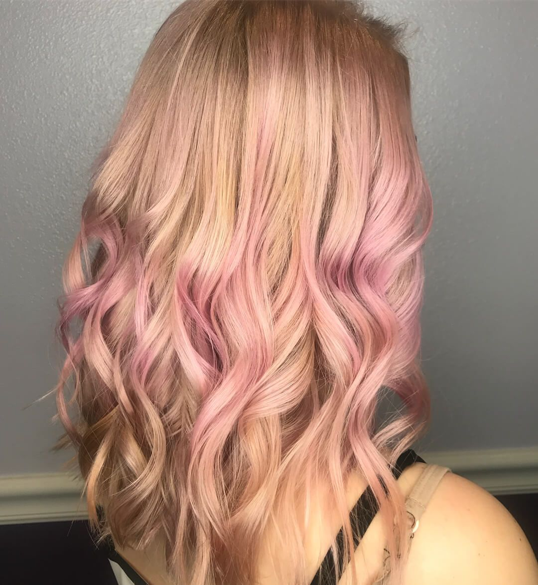 2019 Hair Color Trends For Women To Try Fashionterest Light Blonde Hair Hair Color Trends Pink Hair Highlights