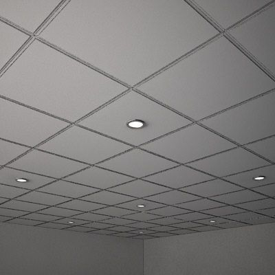 Suspended Ceiling U0026 Lights Model Available On Turbo Squid, The Worldu0027s  Leading Provider Of Digital Models For Visualization, Films, Television,  And Games.