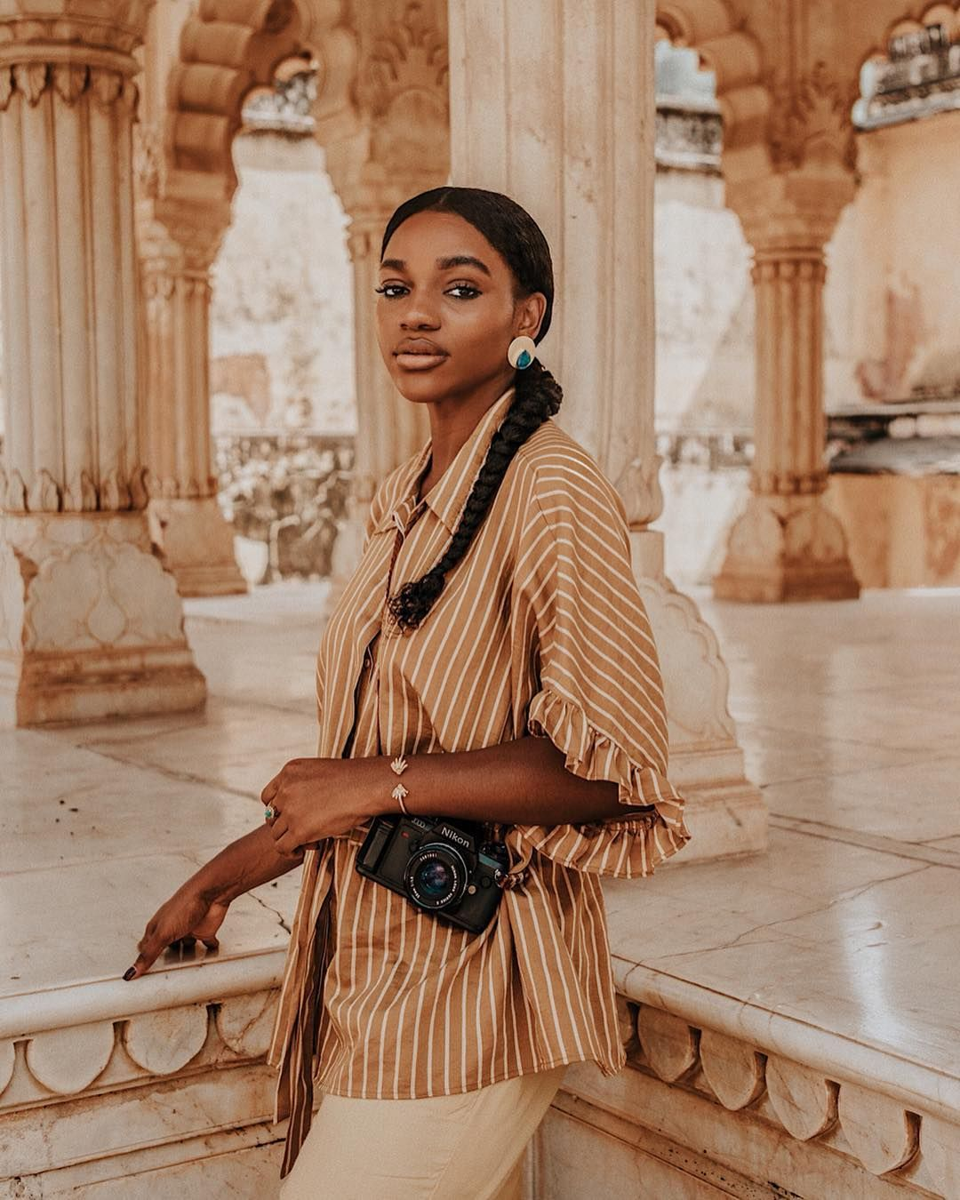 "Asiyami Gold on Instagram: """"This country is as reviving as it is draining. It gives energy and it takes energy. … 