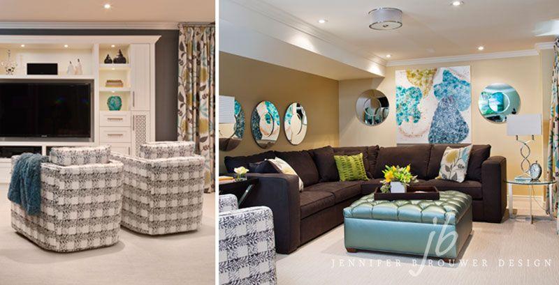 Luxury Basement Rec Room Designs