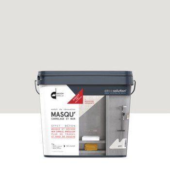 Enduit Masqu\'carrelage et mur MAISON DECO, gris galet, 9kg | Leroy ...