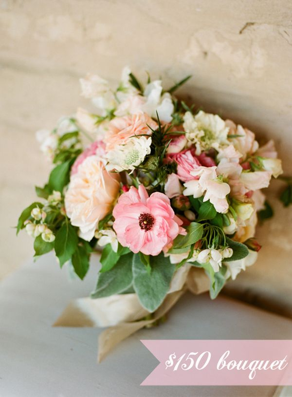 average cost of a wedding bouquet budget breakdown