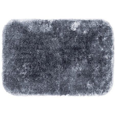 Springmaid My Finest Nylon Bath Rug Collection, Gray