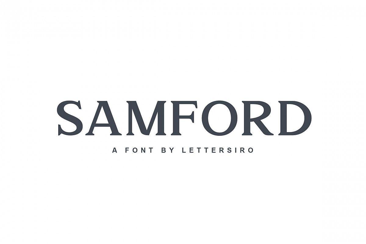 Download Samford font | Modern serif fonts, Serif fonts, Download fonts