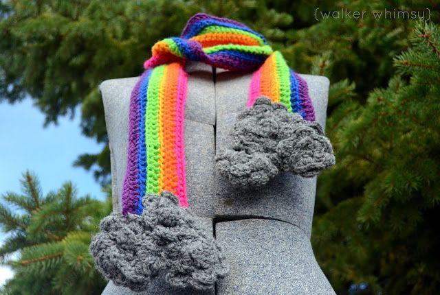 walker whimsy}: The Rainy Day Scarf (free crochet pattern) | Crochet ...