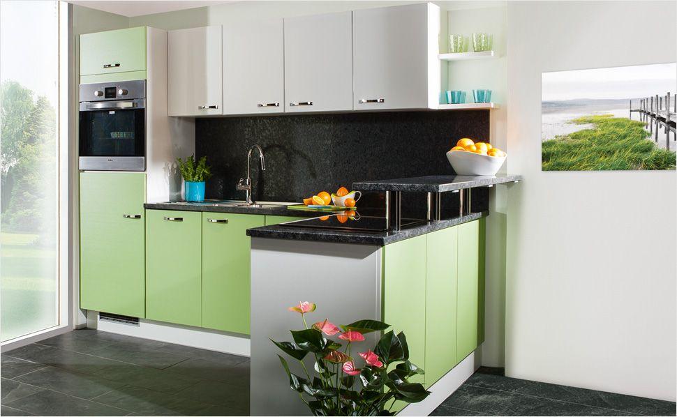 Platzwunder für kleine Wohnungen! Diese Küche ist nicht nur modern