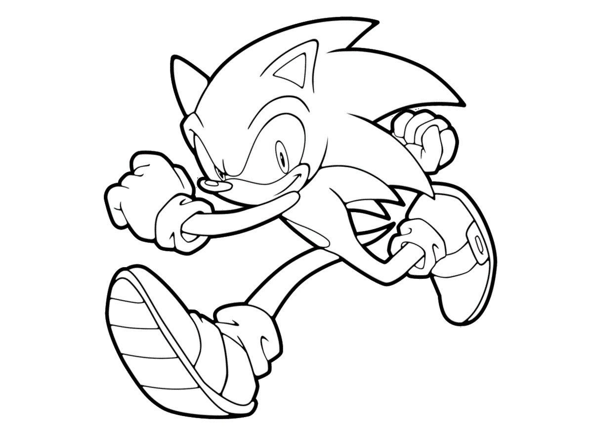 Dibujos para colorear de Sonic | COLOURING PAGES | Pinterest ...