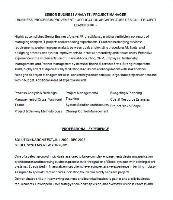 Sample Resume For Business Analyist , Analyst Resume Examples , In