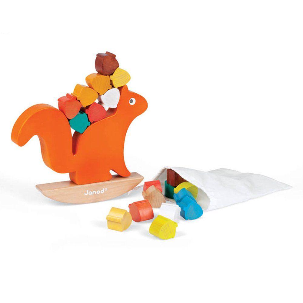 Eichhörnchen Balance-Spiel Janod Kinderspielzeug und Freizeit