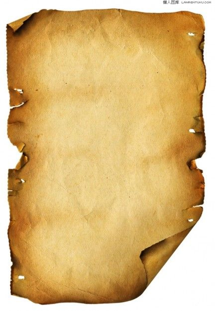 Yellow Old Scroll Texture Photoshop Template Textures Old Paper Clip Art Paper
