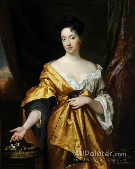 Sir Godfrey Kneller, Bt. Hortense Mancini, Duchess Of Mazarin oil painting reproductions for sale