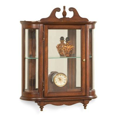 Butler Wall Curio Cabinet Products In