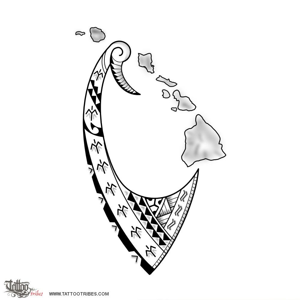 Hook tattoo designs - Manfred Is A Triathlete Who Completed Several Ironman Challenges In Hawaii And He Asked Us To Integrate His Mdot Logo Tattoo With A Fish Hook And Hawaii