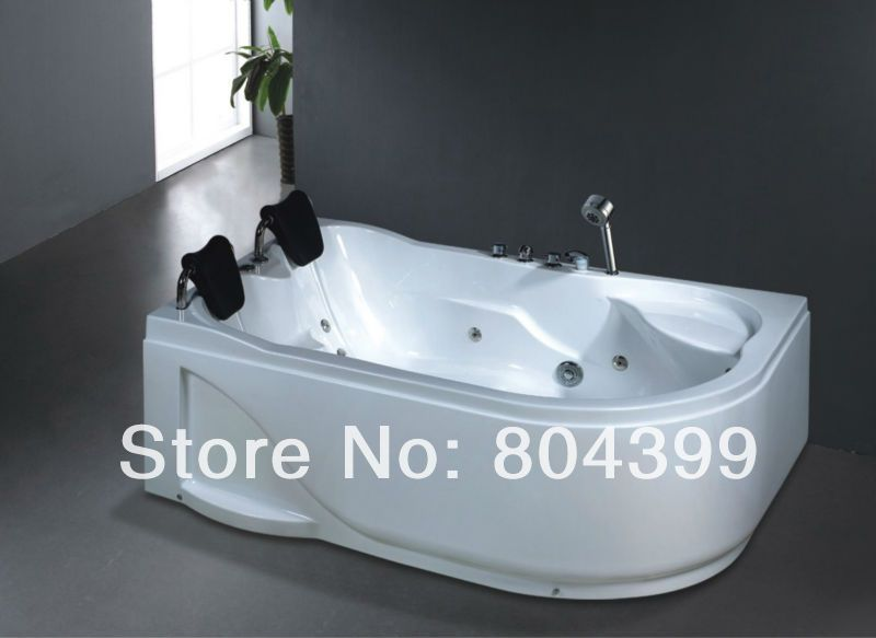 Large bathtub acrylic pedestal large european style bathtub bubble ...