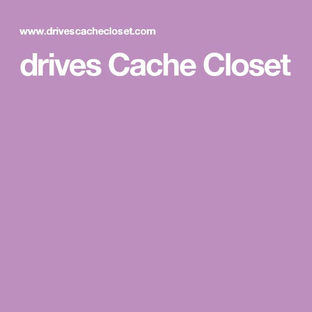 Drives Cache Closet Geocache