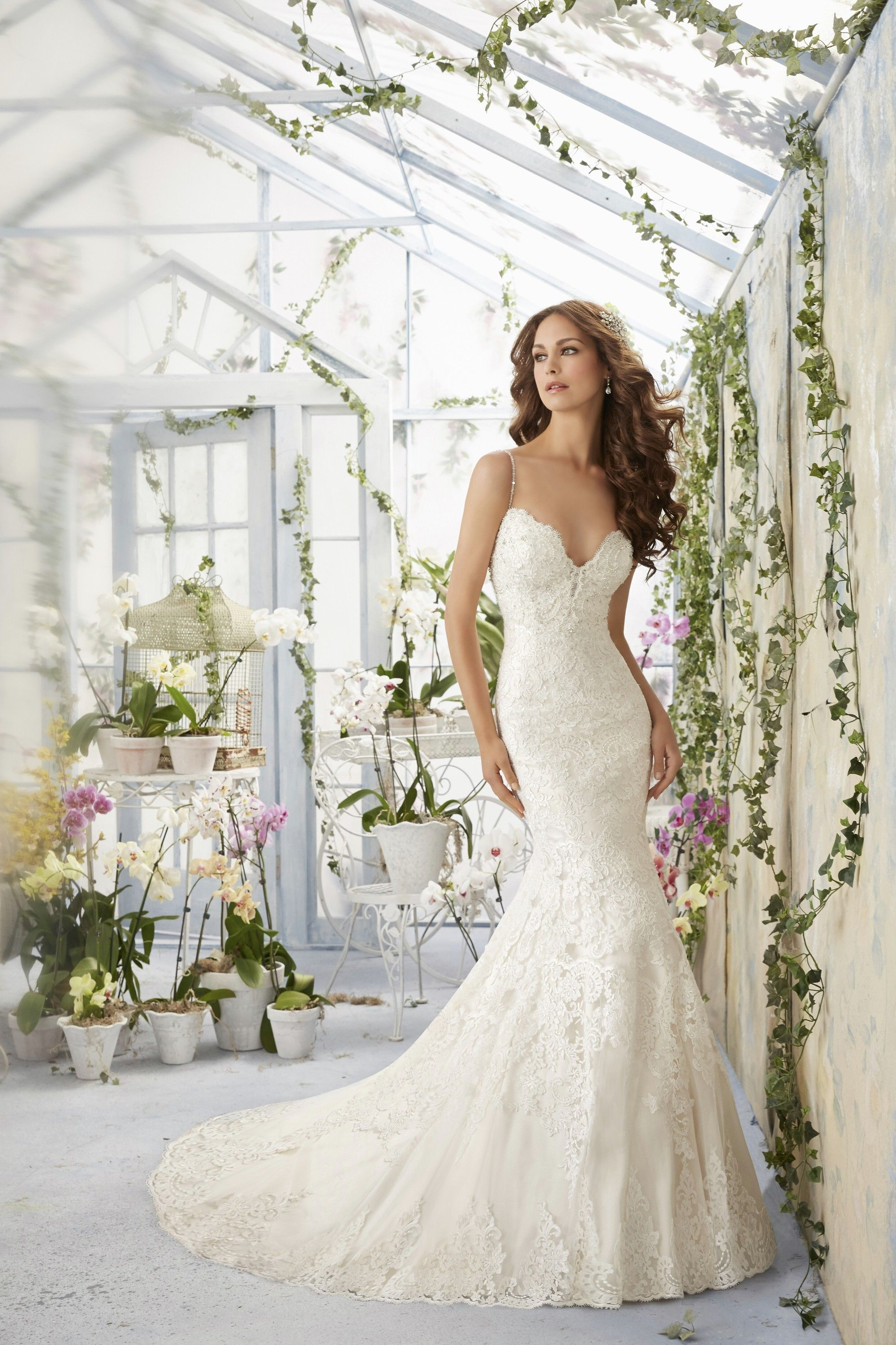 Mori lee blu wedding dresses style