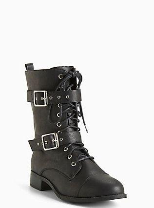 Combat Boots (Wide Width