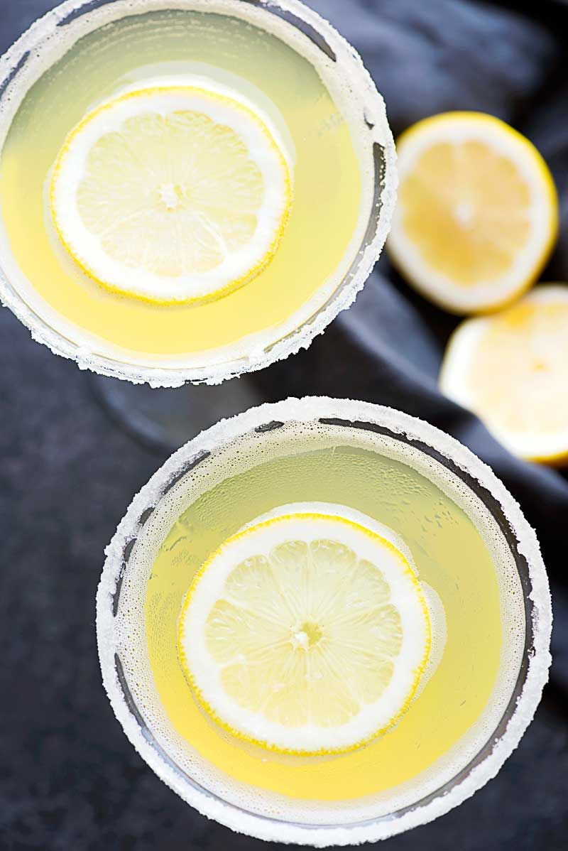 Lemon drop martini a deliciously sweet martini made with
