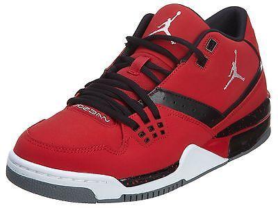 Nike Jordan Flight 23 Mens 317820-601 Gym Red Black Basketball Shoes Size 11
