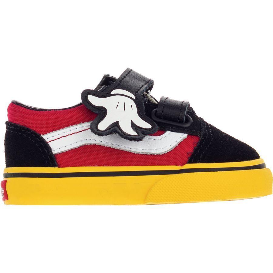 013801d68e Vans - Disney Old Skool Shoe - Toddler Boys  - (Disney) Mickey Hugs Yellow