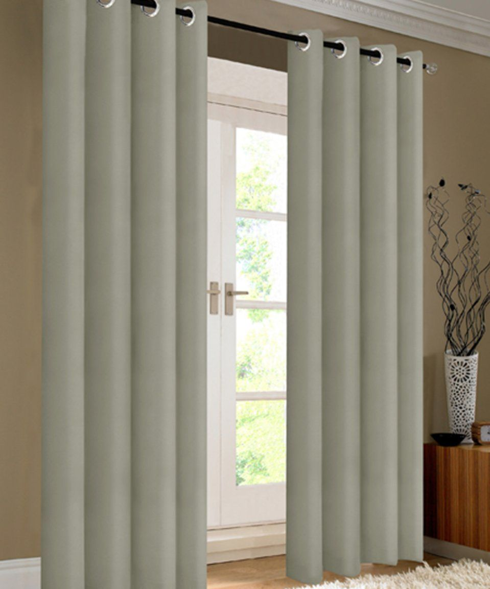 Take A Look At This S L Home Fashions Silver Kevin Blackout Curtain Panel Set Of Two Today Panel Curtains Curtains Silver Curtains