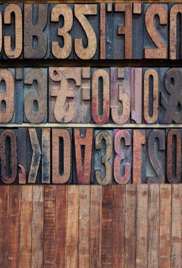 Wood Letters Dark Wood Floor Photography Backdrops Background Custom