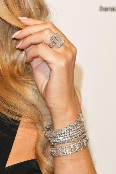 ring celebrity engagement rings 2017 british vogue mariah carey - Mariah Carey Wedding Ring