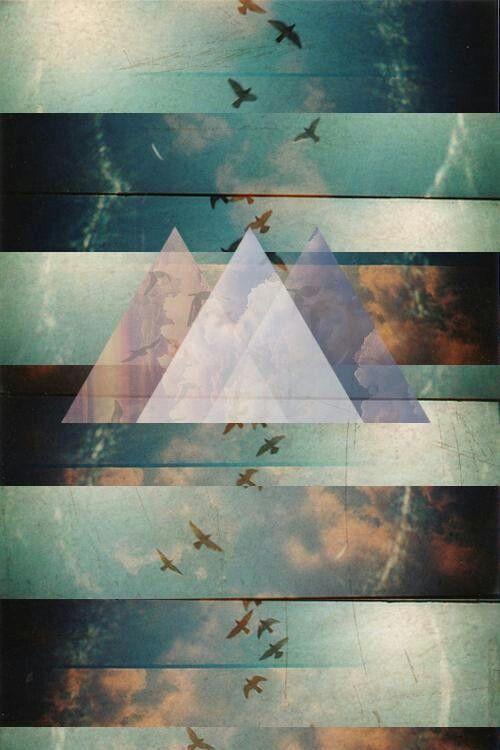 Triangulos Y Lineas Wallpaper Hipster