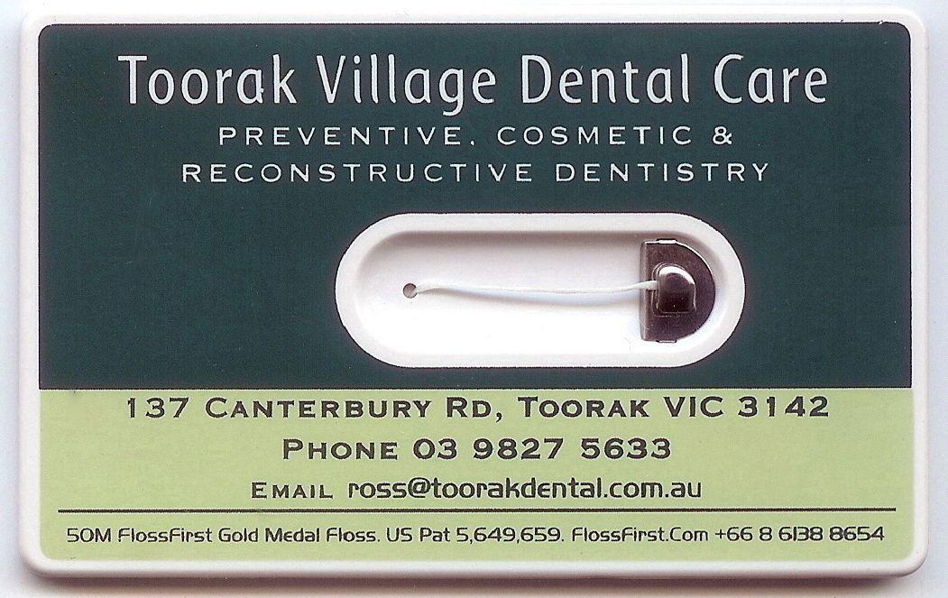07b81ddf0 cartão de visita com fio dental