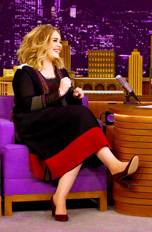 Adele on The Tonight Show