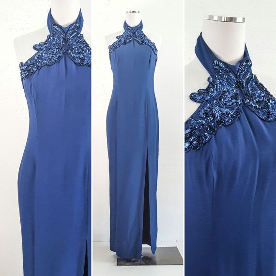 Vintage Dress Vintage Dresses For Women Blue Dress Women Formal