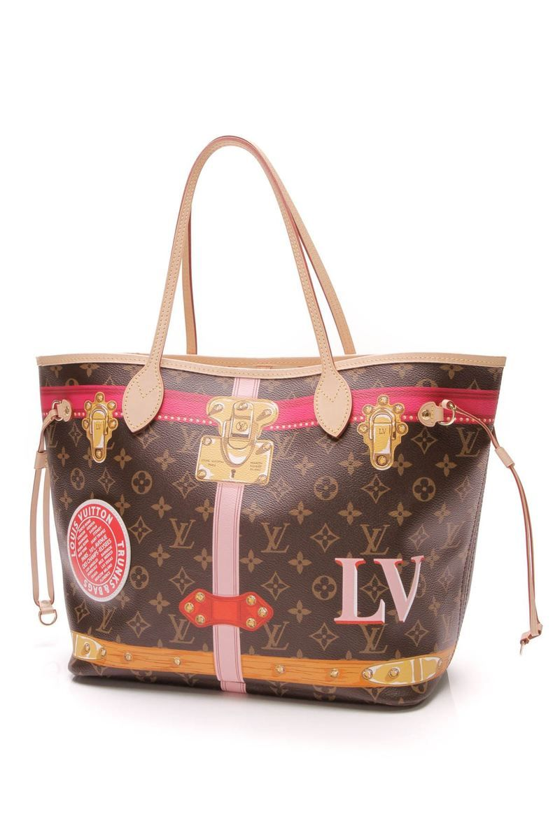e57f095f451a Neverfull MM Summer Trunks Bag- Monogram – Couture USA