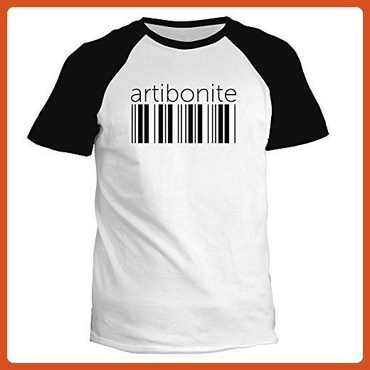 Idakoos - Artibonite barcode - Cities - Raglan T-Shirt - Cities countries flags shirts (*Partner-Link)