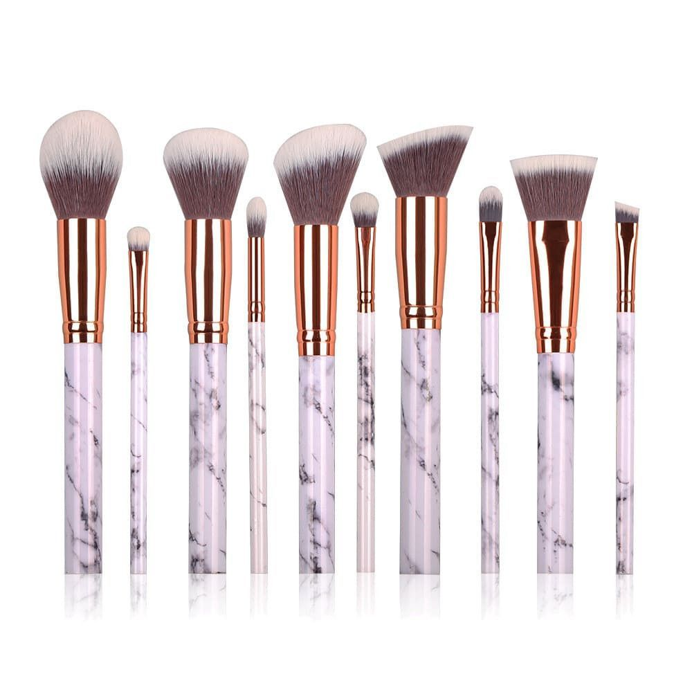 Lexie Brushes Makeup Brush Set Makeup Brush Set Professional Mermaid Makeup Brushes