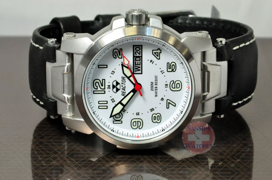 Reactor - Bullet Proof Watches 10 Year powercell the best SPORT watch... PERIOD