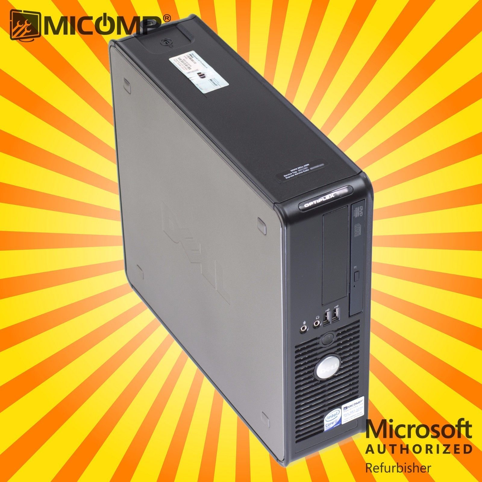 Details about HP Desktop Computer Pc with HDMI WiFi Intel