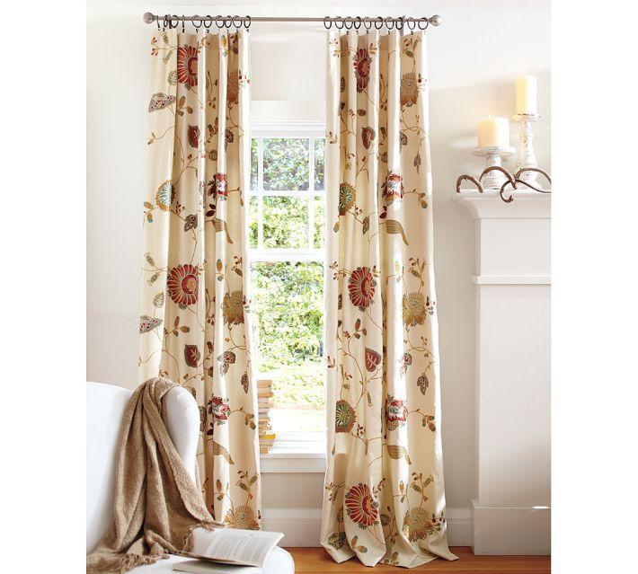 Unique Pottery Barn Curtains